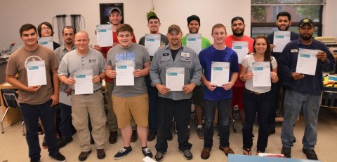PHCC mechatronics program keeps perfect pass rate over four years
