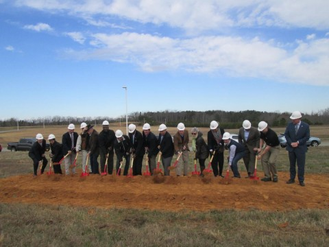 Ground broken on shell building; Halifax County IDA leader calls it a 'new era in economic development'