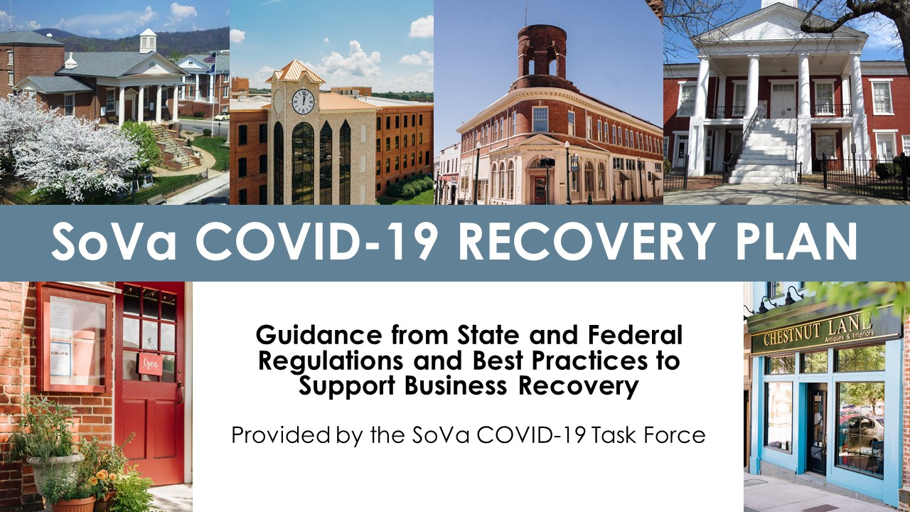SoVa COVID19 Recovery Plan graphic